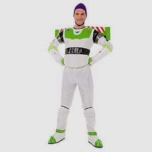 Disney Buzz Lightyear Mens Costume XL NEW Toy Story NEW Wings Cute