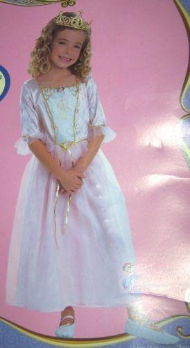 Barbie Princess Anneliesse Girls Costume Sm 4-6 NEW