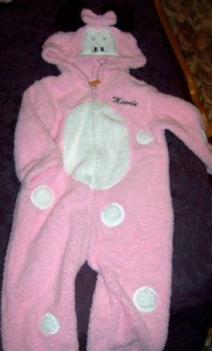 Minnie Mouse Infant Costume 18 Mths Pink NEW