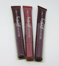 Lot Of 3 Revlon Kiss Plumping Lip Creme 540 545 0.25oz/7.1g - $11.78