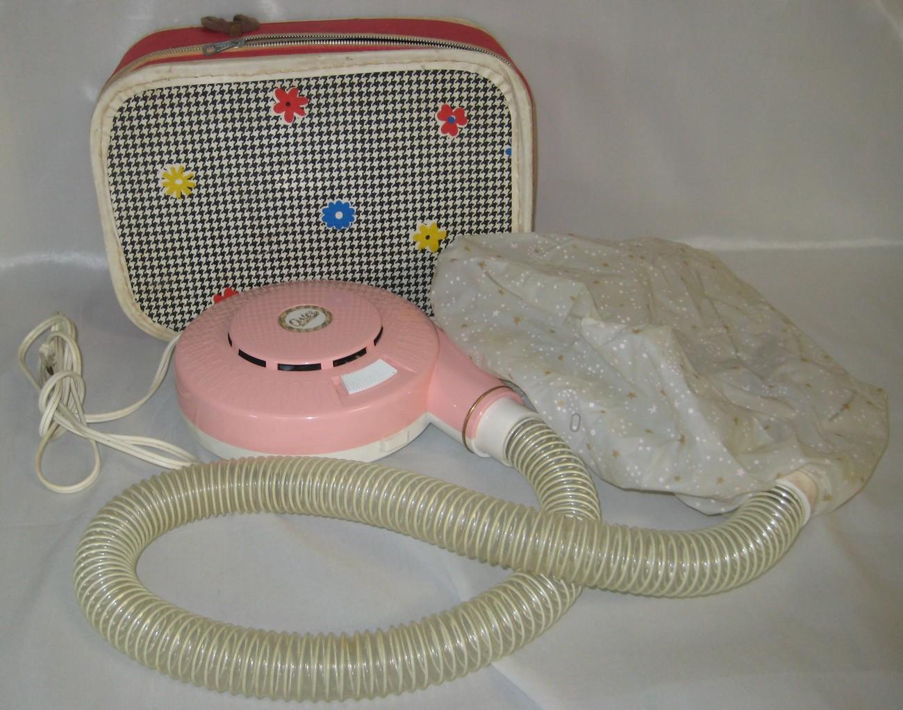Vintage pink oster hairdryer