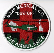 """US Army 832nd Aviation Medical Company Air Ambulance 4.5"""" Patch - Sew On Patch - $13.85"""