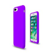 Purple Soft Silicone Rubber Case Flexible Skin Jelly Cover for iPhone 7 ... - $14.10