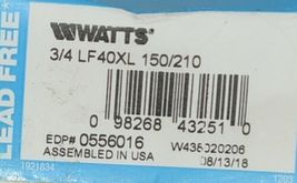 Watts 0556008 Temperature Pressure Safety Relief Valve Lead Free image 6