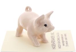 Hagen-Renaker Miniature Ceramic Pig Figurine Pink Piglet Standing image 4