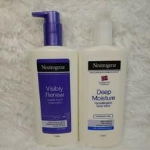 NEUTROGENA Visibly Renew Supple Touch & Deep Moisture Hypoallergenic Body Lotion - $31.68