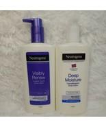 NEUTROGENA Visibly Renew Supple Touch & Deep Moisture Hypoallergenic Bod... - $31.68