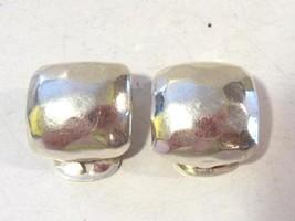 Sterling silver 925 clip earrings - $18.00