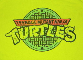 Teenage Mutant Ninja Turtles Name Logo Retro Art T-Shirt, NEW UNWORN - $14.50