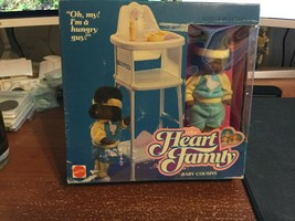 The Heart Family Baby Cousins Kevin & Highchair African American AA NIB - $46.95