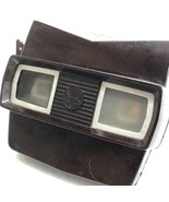 View Master Viewer Functional Sawyer's Model E in Brown w/Reels - Late 50's - $41.04