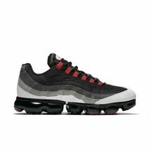 Nike Air Vapor Max 95 Noir/Rouge/Gris / Blanc Hommes Taille 11 Neuf AJ72... - $187.17