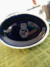 Carlsbad Karlovy Vary Cobalt Blue & Gold Porcelain Rose Mineral Water Sipping Dr image 6