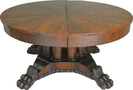 17463 Period Empire Claw Foot Banquet Table – 12 Feet - $2,650.00