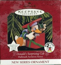 1997 New in Box - Hallmark Keepsake Christmas Ornament Donald's Surprisi... - $4.94