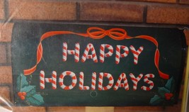 Pattern to make Painted Canvas Mailbox Cover - Happy Holidays - $4.00