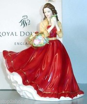 Royal Doulton CHARLOTTE Pretty Ladies Figurine in Red Gown #HN5382 New I... - $149.90