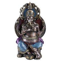 The Hindu Elephant-Deity-Seated Ganesha/Ganapati/Vinayaka [Large] - $52.56