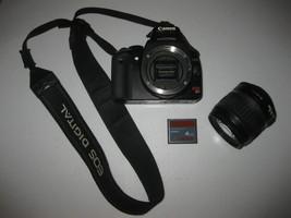 Canon EOS Rebel XTi DS126151 10MP DSLR Camera Kit w/ 18-55mm Lens & 4GB Card - $168.29