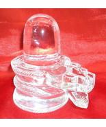Sphatik Shivling / Quartz Crystal Shivlinga  - 590 gm  - Lab certified - $2,178.00