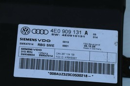 Audi A8 Kessy Keyless Entry Lock Control Module 4e0909131 Oem 5wk47015 image 2