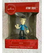 "2019 Hallmark Star Trek Mr. SPOCK Christmas Tree Ornament New 4"" Leonard... - $9.89"
