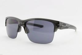 Oakley Thinlink Sunglasses OO9316-01 Grey Smoke Frame W/ Grey Lens - $53.45