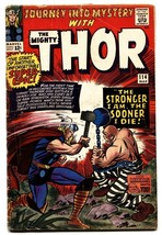 Journey Into Mystery #114 1965-THOR-1st appearance ABSORBING MAN-Jack Ki... - $81.97
