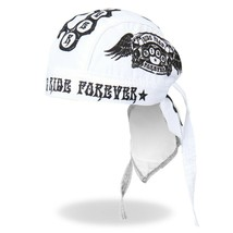 Ride Rapide Ride Forever Tattoos Crânes Motard Bandana Bandeau HWH1045 - $14.91