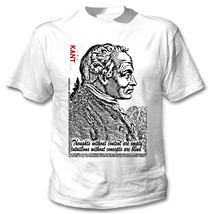 Immanuel Kant German Philosopher Thoughts Quote - New Amazing Graphic Tshirt - $23.16