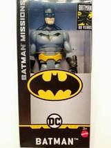 """Mattel DC 80 Years Batman Missions Collection Batman Gray Suit 6"""" Action... - $7.87"""
