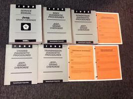 1999 Jeep Grand Cherokee Service Repair Shop Manual Set W Diagnostics + Recall - $197.99