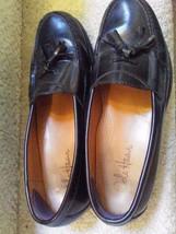 COLE HAAN Mens Loafer Slip-On Shoe Sz 10 D  Black Pinch Tassel 03506 - $65.09