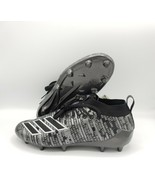 adidas Adizero 8.0 Men Football Cleats Boots Black/Silver [Sizes 9.5-13]... - $59.84+