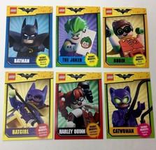 Lego Batman Movie Promo Trading Cards Barnes & Nobles Set Of 6 (Six) Tot... - $14.91