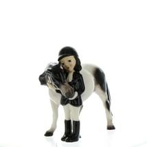 Hagen Renaker Specialty Horse Girl with Pinto Pony Ceramic Figurine image 12