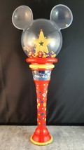 "Disney On Ice 2001 Mickey Minnie Mouse Light Up Souvenir Wand 12"" - $15.92"