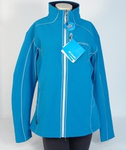 Columbia Blue Wind & Water Resistant Thermal Soft Shell Jacket Womans NWT - $97.49