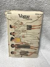 Vogue 8922 Misses Misses Petite Unlined Jacket Dress Top Pants Sewing Pa... - $12.86
