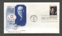Feb 10 1975 Benjamin West Painter Fleetwood FDC #1553 - $3.99