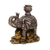 Feng Shui Elephant Figurine For Protection Fortune Wisdom and Fertility ... - £19.17 GBP
