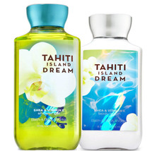 Bath & Body Works Tahiti Island Dream Body Lotion + Shower Gel Duo Set - $26.41