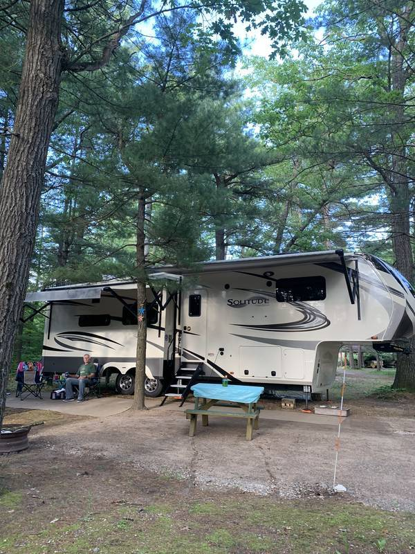 2020 GRAND DESIGN SOLITUDE 344 GK-R FOR SALE IN LEWISTON, MI 49756