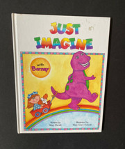 Vtg 90s Just Imagine with Barney Shrode Mary Book Kids - $11.87