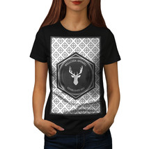Wellcoda Deer Shirt Nonagon Women T-shirt - $12.99