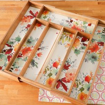 """NEW 2017 The Pioneer Woman Willow 18"""" x 13"""" Expandable Cutlery Tray Storage - $39.49"""