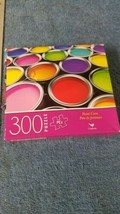 Jigsaw Puzzle 300 Piece 14x11 Cardinal New Sealed Bag Paint Cans - $2.85