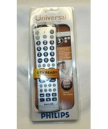 Philips Universal Remote Control DTV Converter Box Large Glow Keys New S... - $13.85