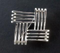 Fabulous Vintage Monet Silver Pin Brooch - $14.90