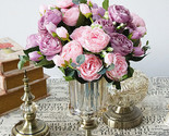 Ial silk flowers small bouquet flores home party spring wedding decoration mariage thumb155 crop
